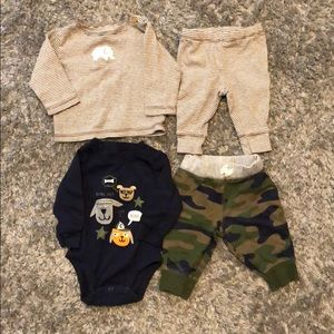 TWO Infant 2-Piece Outfits